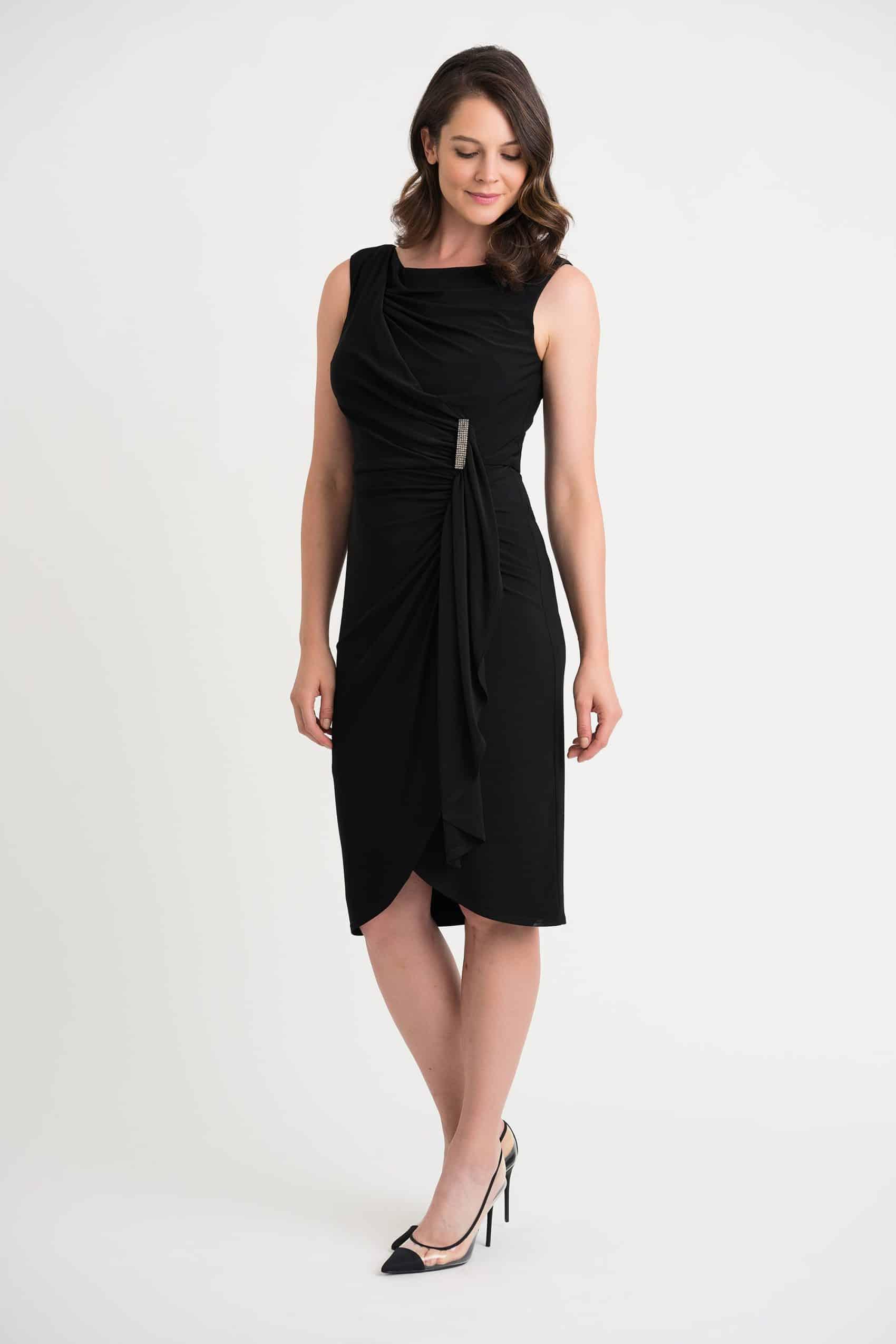 204231-1-WEB Special Events Black dress short