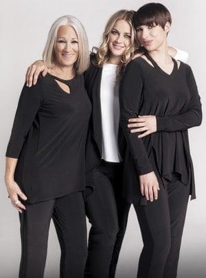 3 generations of fashion
